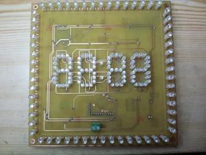 Fabrication de l'horloge