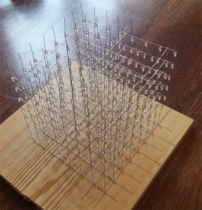 Cube LED - Câblage