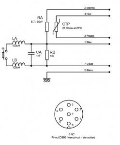 Schema fer DSX80