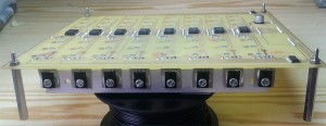 PCB transistors