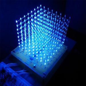 Test cube LED